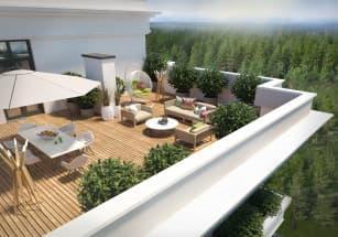На столичном рынке недвижимости резко выросла популярность квартир с террасами