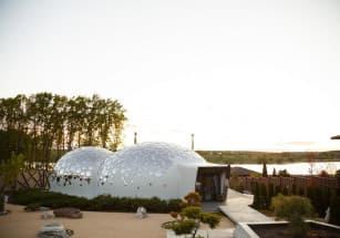 На Украине появился «дом-пузырь»