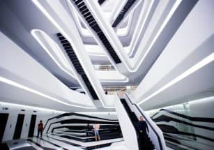 Бюро имени Захи Хадид построит в Поднебесной вертикальный город