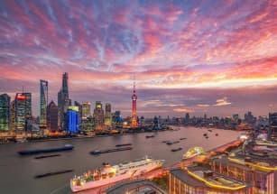 Взлетная полоса в Шанхае стала основой для парковой зоны