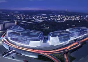Сложный участок в Цюрихе застроен многофункциональным комплексом