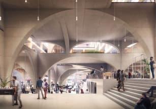 86 арок украсили подиум нового жилого комплекса в Амстердаме