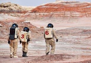Представлен новый проект населенного пункта для Марса