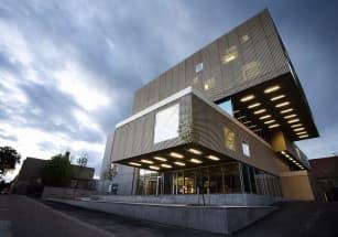 В Гетеборге появится библиотека в форме вогнутого куба
