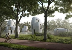 В Нидерландах появился 3D-печатный частный дом