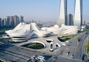 Многоэтажку в Китае возвели чуть более чем за сутки