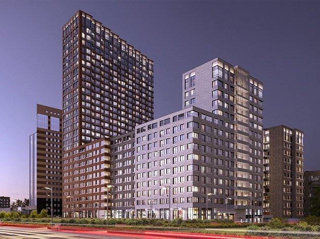 Комплекс жилых апартаментов MAINSTREET, м. Кунцевская
