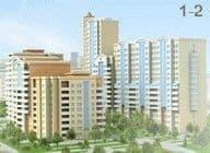 Планировки домов серии ЖК Приват-Сквер/1-2